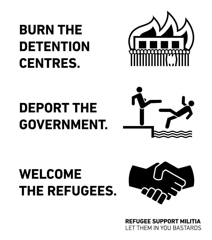 burn the detention centres
