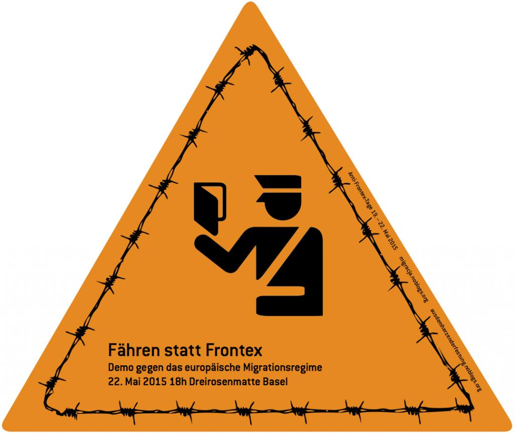 "Plakat ""Fähren statt Frontex"""